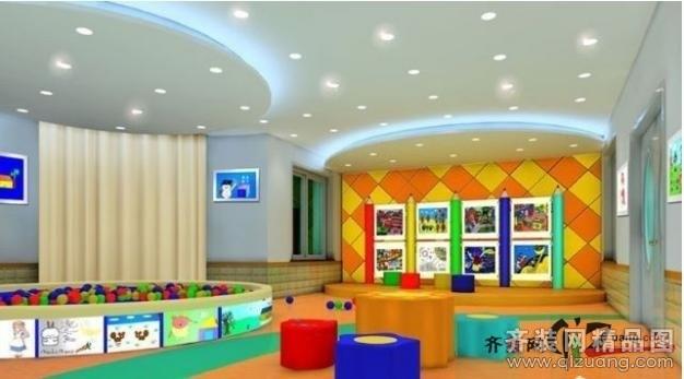 幼儿园田园风格装修效果图实景图图片