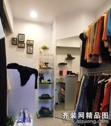 服装店180平米普通户型现代简约家装装修图片设计-齐
