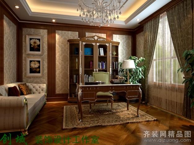 450平米别墅欧式风格家装装修图片设计-如皋齐装网