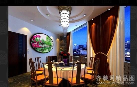 餐厅包间欧式风格装修效果图实景图