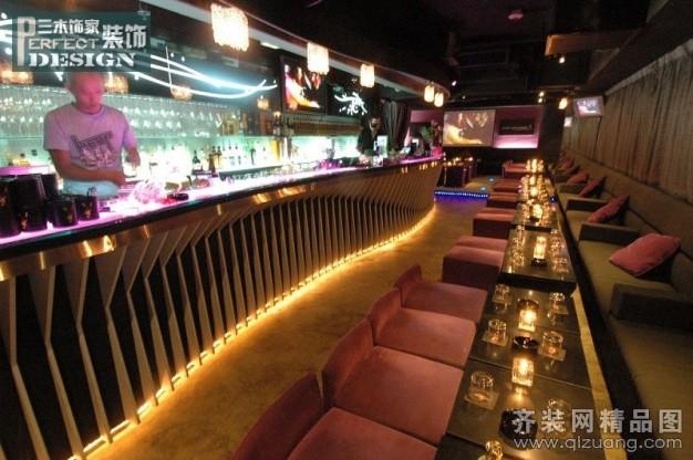 龙腾酒吧现代简约装修效果图实景图
