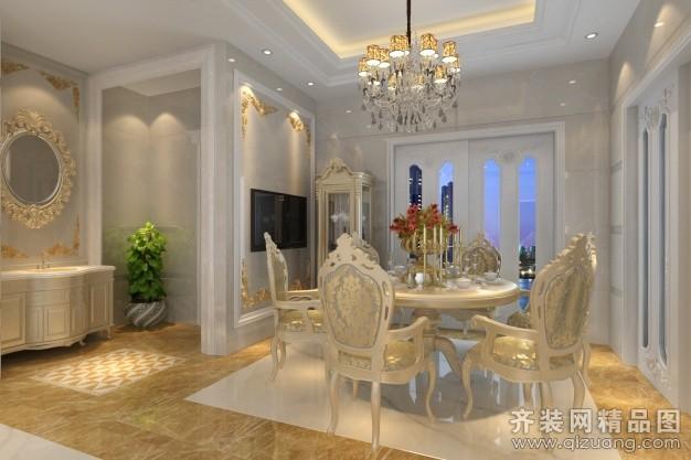 250平米复式户型欧式风格家装装修图片设计-厦门齐装