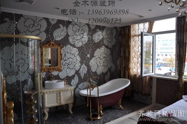 美容院欧式风格装修效果图实景图