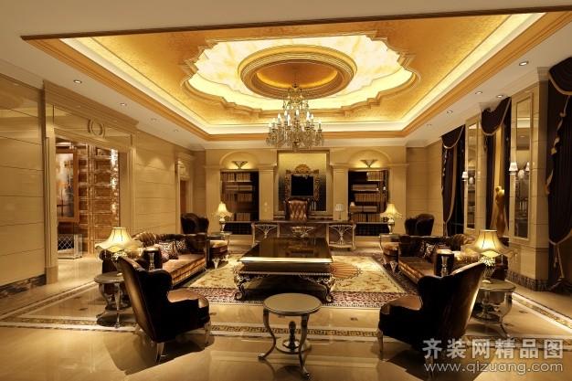 511平米别墅欧式风格家装装修图片设计-西双版纳齐装
