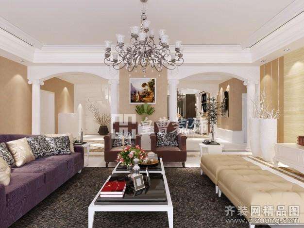 290平米别墅欧式风格家装装修图片设计-厦门齐装网