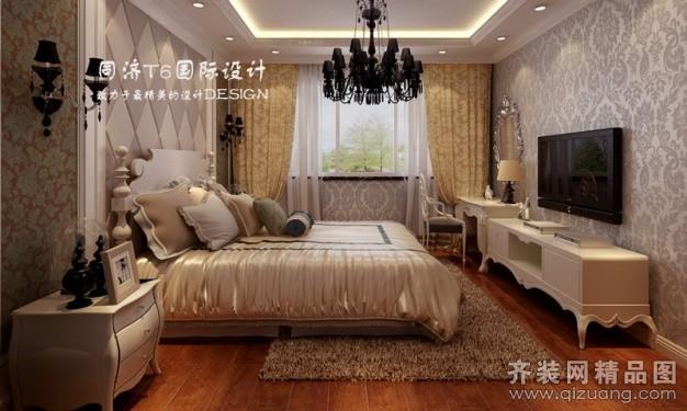 165平米普通户型欧式风格家装装修图片设计-无锡齐装