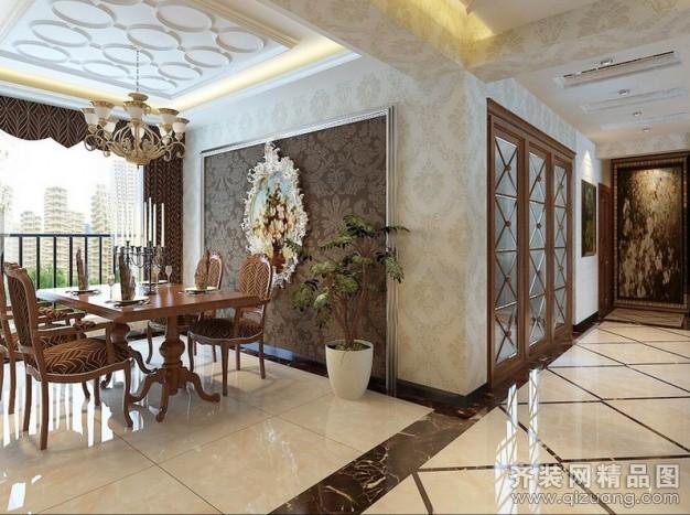 仁和家园欧式风格装修效果图实景图