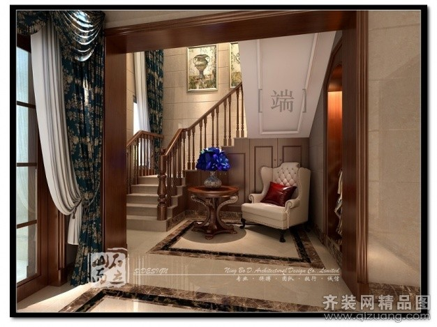 300平米跃层户型欧式风格家装装修图片设计-慈溪齐装
