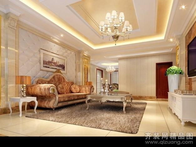 600平米别墅欧式风格家装装修图片设计-吴江齐装网