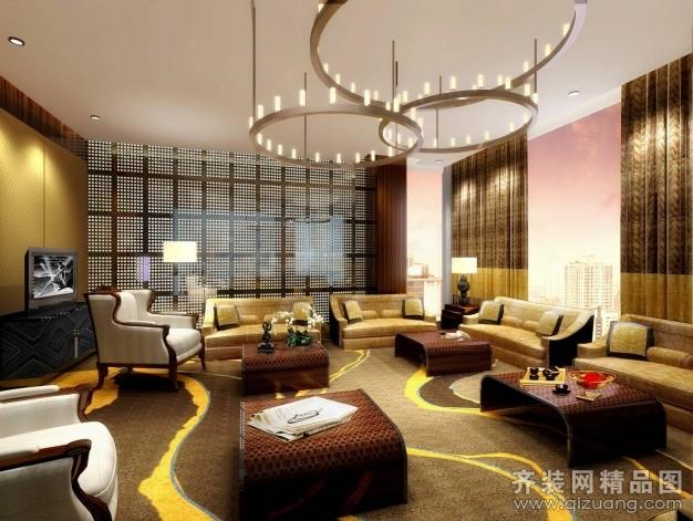 长兴酒店现代简约装修效果图实景图