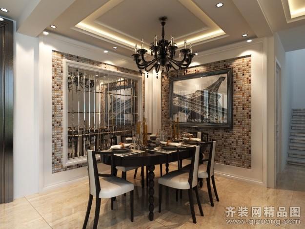 315平米别墅欧式风格家装装修图片设计-泰州齐装网