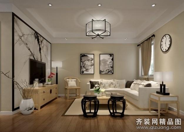 茶园中式风格装修效果图实景图