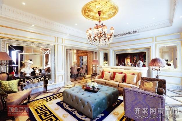 150平米跃层户型古典风格家装装修图片设计-苍南齐装