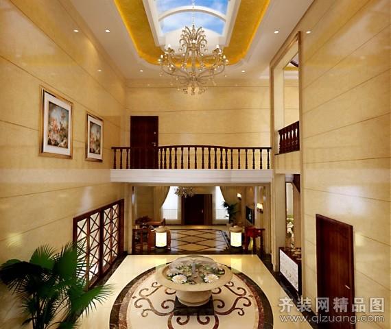 450平米别墅欧式风格家装装修图片设计-宜兴齐装网