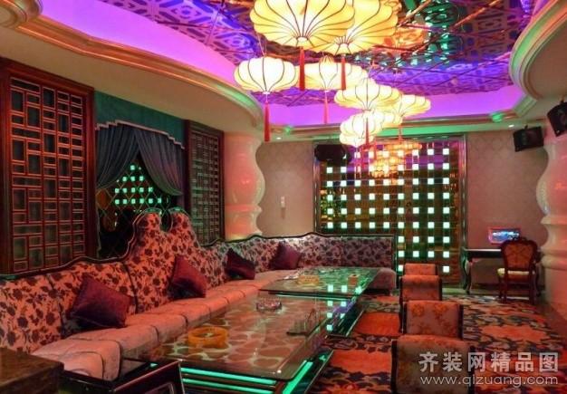 2000平米普通户型美式风格家装装修图片设计-江阴齐