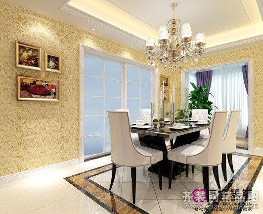 260平米复式户型欧式风格家装装修图片设计-张家港齐
