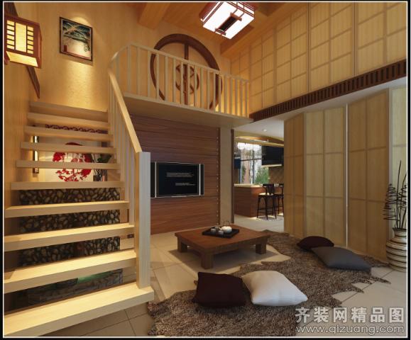 280平米跃层户型欧式风格家装装修图片设计-苍南齐装
