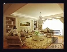 金海岸花园—烟台越尚装饰别墅大宅装修案例