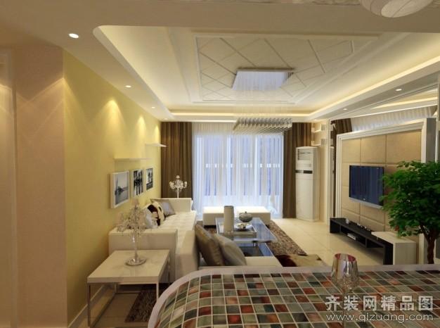 140平米普通户型欧式风格家装装修图片设计-郑州齐装