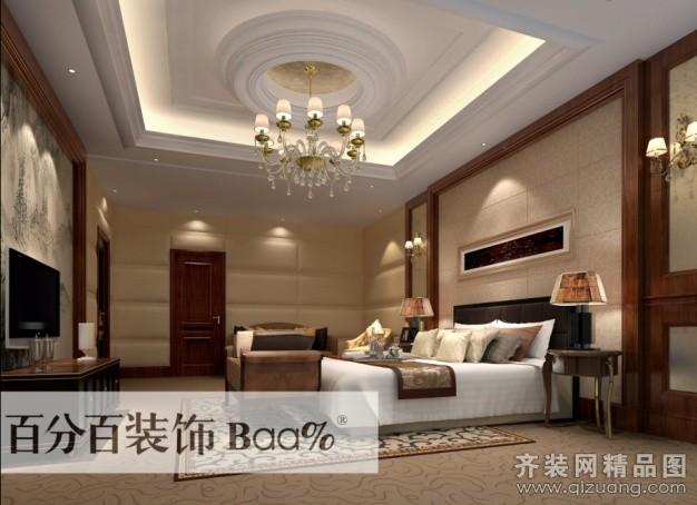 200平米跃层户型欧式风格家装装修图片设计-合肥齐装