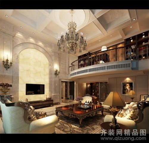 268平米跃层户型欧式风格家装装修图片设计-温州齐装