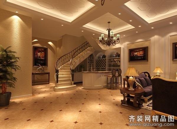 569平米别墅欧式风格家装装修图片设计-苏州齐装网