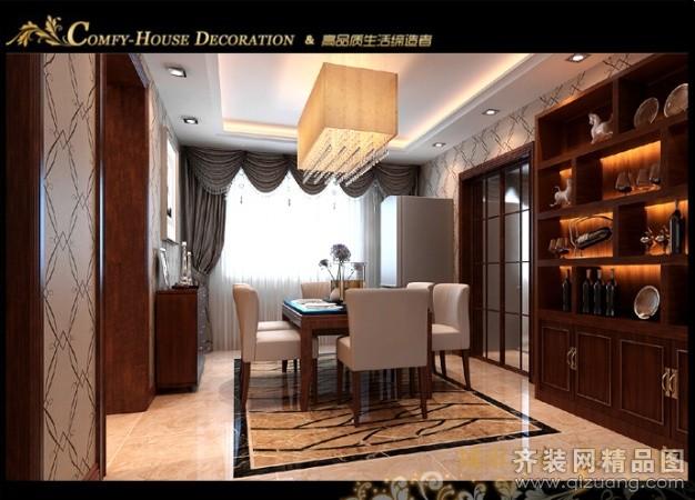 160平米普通户型中式风格家装装修图片设计-乌鲁木齐