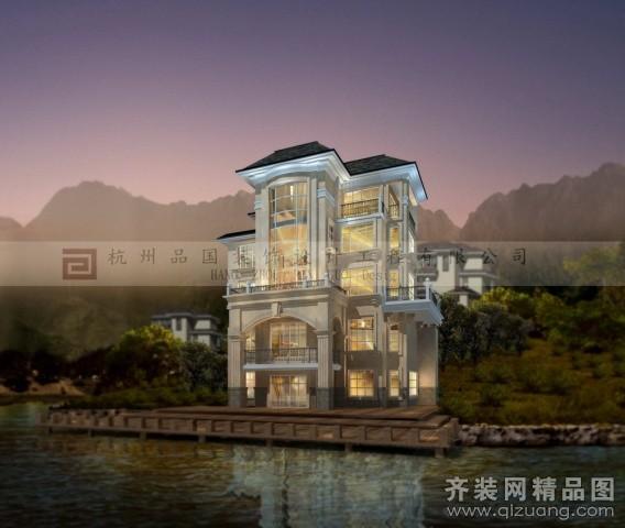 1200平米别墅欧式风格家装装修图片设计-杭州齐装网