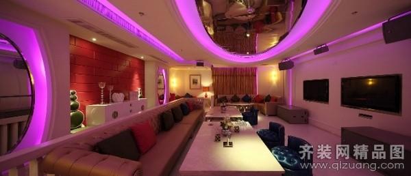 武汉酒吧装修现代简约装修效果图实景图