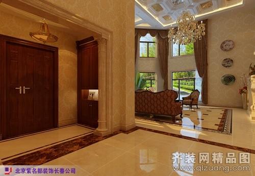 460平米别墅欧式风格家装装修图片设计-长春齐装网