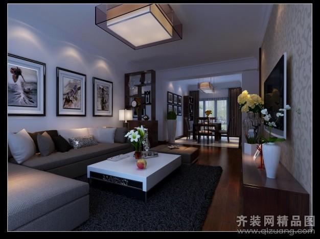 116平米普通戶型古典風格家裝裝修圖片設計-合肥齊裝