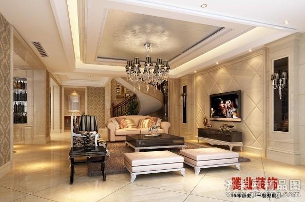200平米跃层户型欧式风格家装装修图片设计-苍南齐装