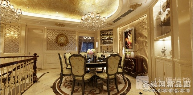 420平米跃层户型欧式风格家装装修图片设计-苍南齐装