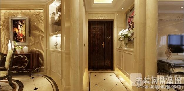 420平米跃层户型欧式风格家装装修图片设计-温州齐装