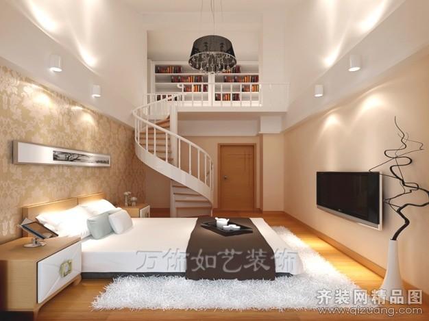 160平米跃层户型现代简约家装装修图片设计-厦门齐装