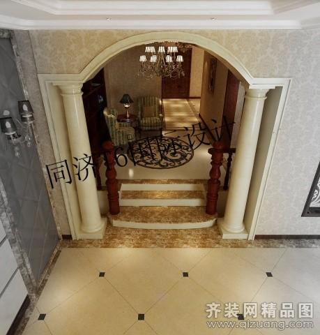 350平米别墅欧式风格家装装修图片设计-无锡齐装网