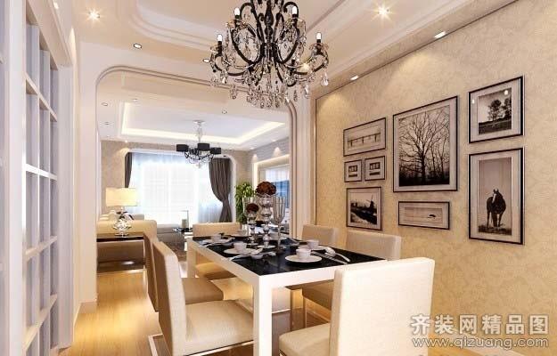 135平米普通户型现代简约家装装修图片设计-昆山齐装