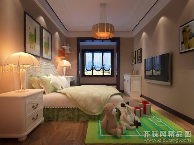 118平米普通戶型現代簡約家裝裝修圖片設計-鄭州齊裝
