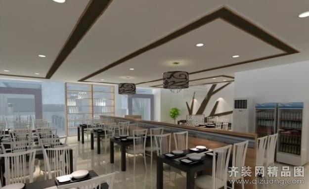 30平米饭店设计效果图