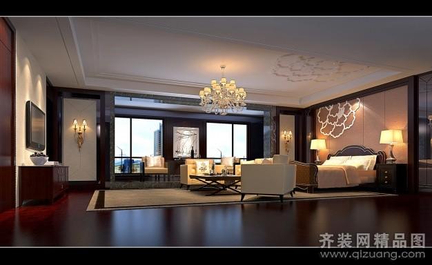 吴江厂房办公楼中式风格装修效果图实景图