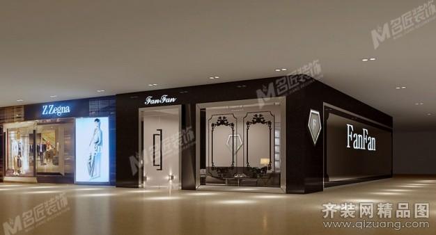 fanfan北京鞋店中式风格装修效果图实景图