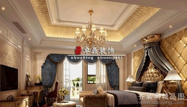 360平米别墅欧式风格家装装修图片设计-厦门齐装网