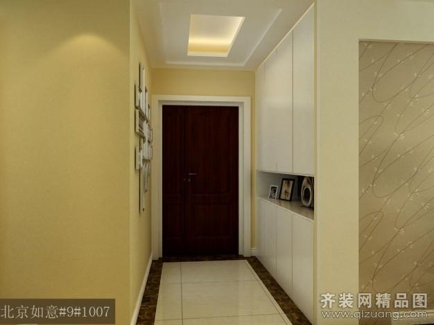 125平米普通户型现代简约家装装修图片设计-沭阳齐装