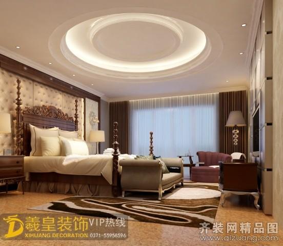 280平米跃层户型欧式风格家装装修图片设计-郑州齐装
