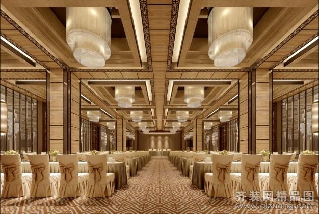 多功能厅中式风格装修效果图实景图图片