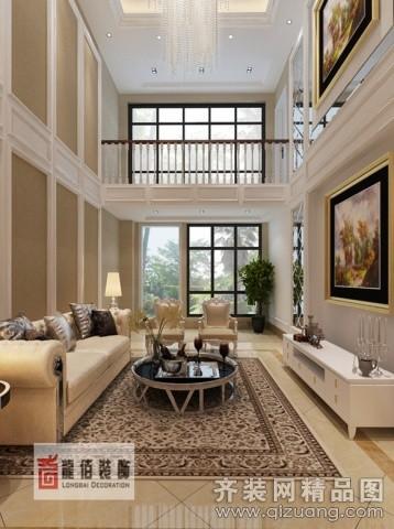 218平米跃层户型欧式风格家装装修图片设计-南京齐装