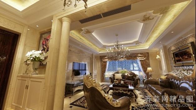 600平米跃层户型欧式风格家装装修图片设计-温州齐装