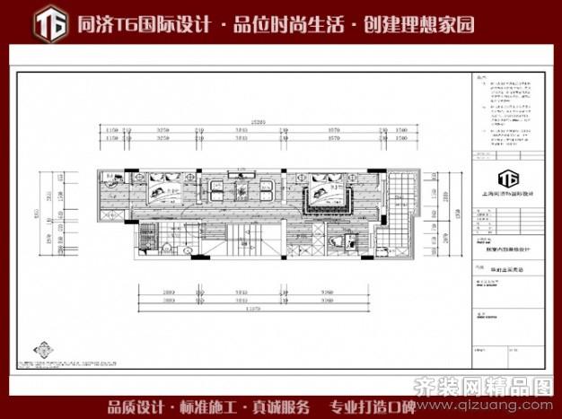 480平米别墅欧式风格家装装修图片设计-无锡齐装网