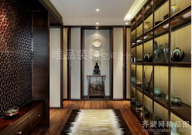 盛泽别墅中式风格装修效果图实景图