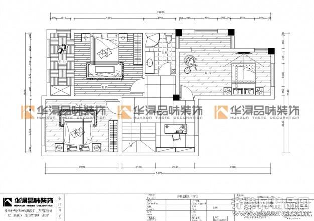 350平米别墅欧式风格家装装修图片设计-徐州齐装网